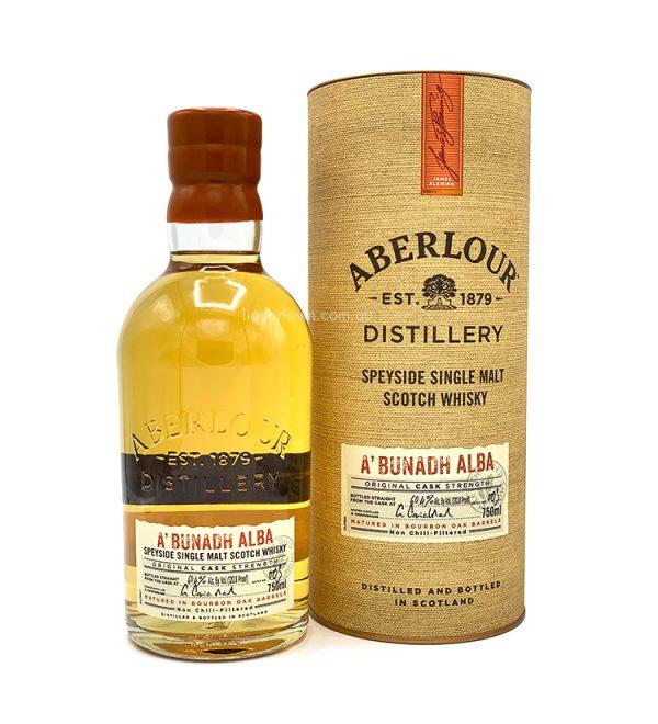 AberlourA'Bunadh Alba Single Malt Scotch Whisky 700mL 60.4%