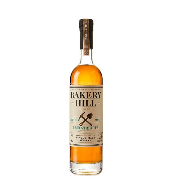 Bakery Hill Peated Single Malt Cask Strength Australian Whisky