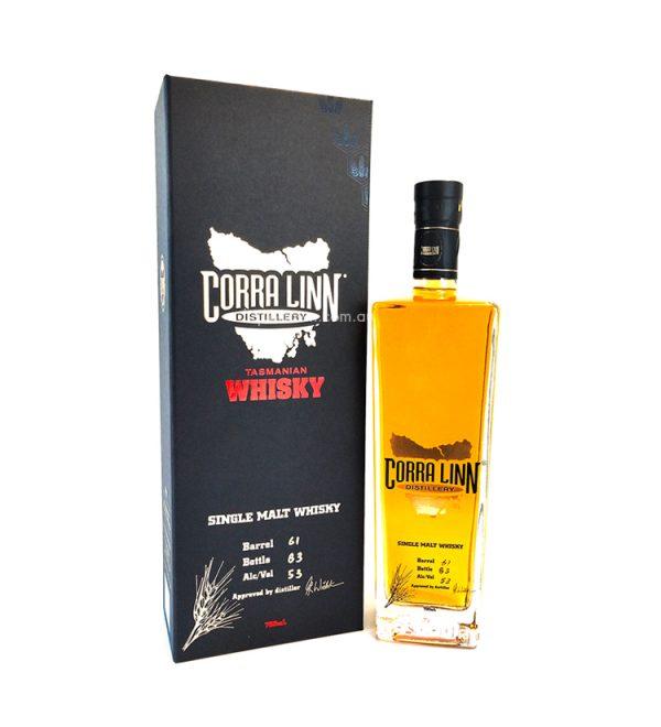 Corra Linn Cask Strength Single Malt Australian Whisky