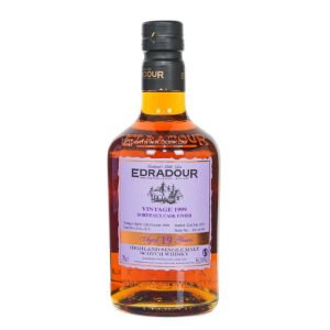 Edradour 1999 Bordeaux Cask Single Malt Scotch Whisky 19 Year Old 700ml 56.2%