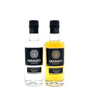 Mana'o Tahitian Rum Ambre Blanc