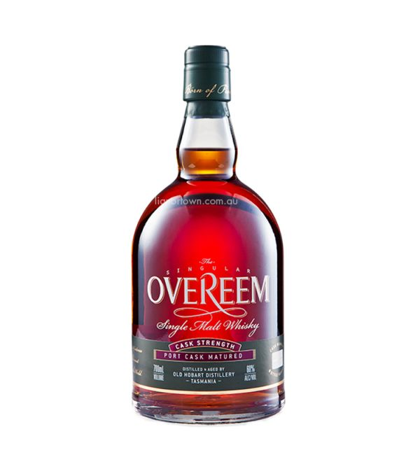 Overeem Port Cask Strength Tasmanian Whisky