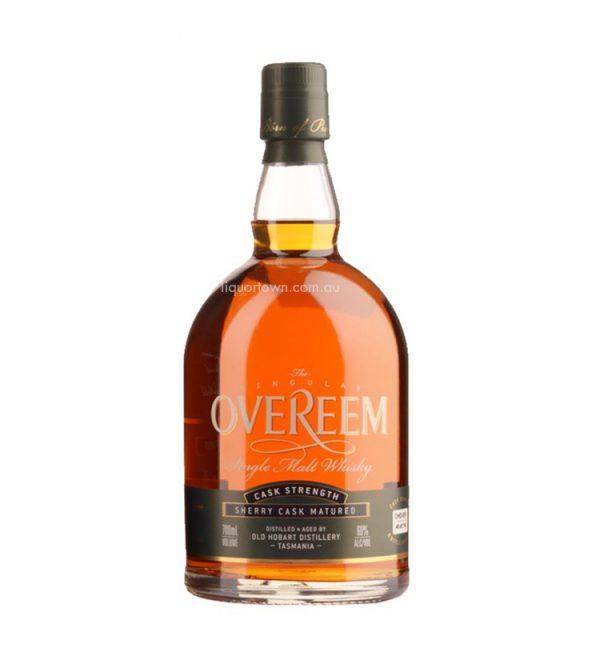 Overeem Sherry Matured Cask Strength Australian Whisky