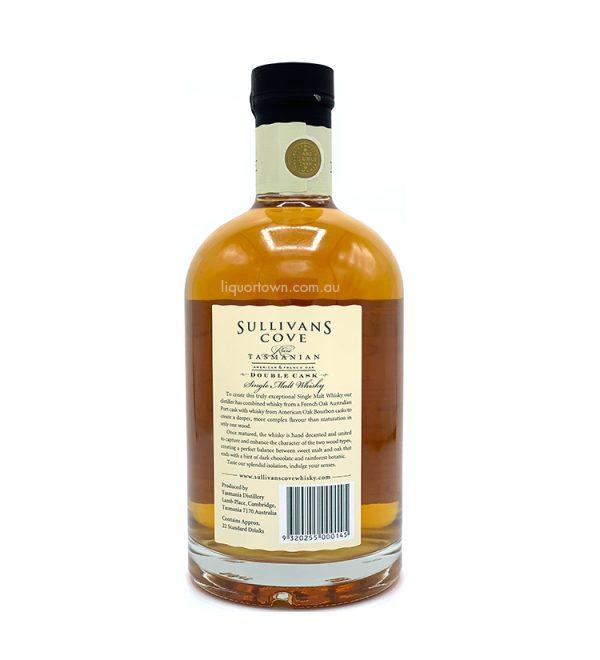 Sullivans Cove Rare Double Cask Single Malt Tasmanian Whisky DC077 700ml 40%