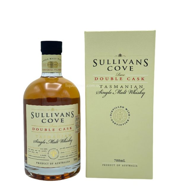 Sullivans Cove Rare Double Cask Single Malt Tasmanian Whisky DC109 700ml 40%