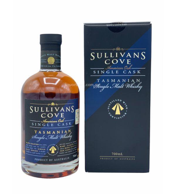 Sullivans Cove American Oak Tawny Cask Single Malt Tasmanian Whisky 700ml 47.6%
