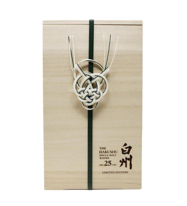 Suntory Hakushu 25 Year Old Limited Edition Japanese Whisky 700ml 43%