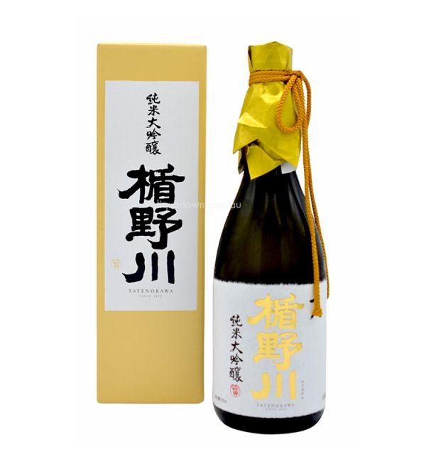 Tatenokawa 18 Juhachi Junmai Daiginjo Japanese Sake 720ml 15%