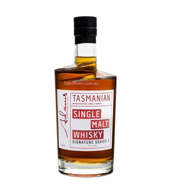 Adam's Signature Series Cask Strength Single Malt Tasmanian Whisky 700ml 58%