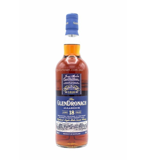 Glendronach Allardice 18 Years Old Single Malt Whisky 700mL 46%